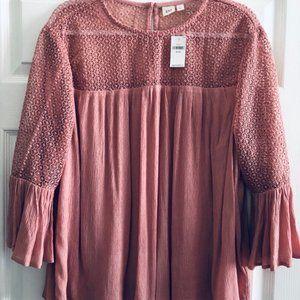 GAP pink blouse XL